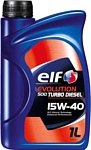 Elf EVOLUTION 500 TURBO DIESEL 15W-40 1л