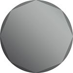 Dubiel Vitrum Kolo 58x58 зеркало (5905241030609)