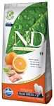 Farmina N&D Grain-Free Canine Fish & Orange Adult Maxi (12 кг)