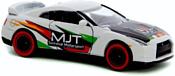 Majorette Racing Cars 212084009 Nissan GT-R MJT (белый)