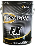 S-OIL DRAGON FX 75W-85 20л