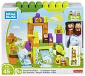 Mega Bloks Storytelling FFG42 Зоопарк Сафари