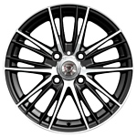 NZ Wheels F-33 6.5x16/5x114.3 D66.1 ET40 BKF