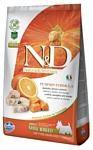 Farmina (0.8 кг) N&D Grain-Free Canine Pumpkin Codfish & Orange Adult Mini