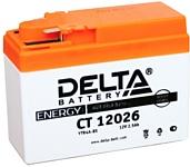 Delta CT 12026 (2.5 А·ч)