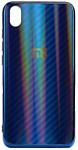 EXPERTS Aurora Glass для Xiaomi Redmi 7 с LOGO (синий)