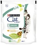 CAT CHOW (0.4 кг) Sterilized с высоким содержанием домашней птицы