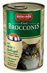 Animonda Brocconis Cat для кошек с дичью и домашней птицей (0.4 кг) 12 шт.