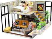 Hobby Day DIY Mini House Эколофт (M031)