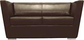 Brioli Болдер двухместный (экокожа, L13 коричневый)