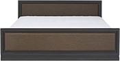BRW AREKA LOZ/160 160x200 Венге/Дуб венге магия