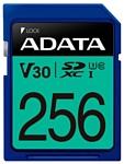 ADATA Premier Pro SDXC UHS-I U3 V30 Class 10 (R100/W80) 256GB