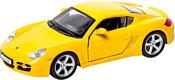 Bburago Porsche Cayman S 18-43003 (жёлтый)