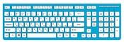 RSQ RSQ-KBWD-002-BL Blue USB