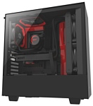 NZXT H500 Black/red