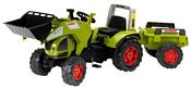 Falk Трактор-экскаватор с прицепом (991AM)