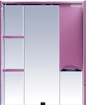 Misty Зеркальный шкаф Жасмин - 75 (розовый)