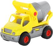 Полесье КонсТрак автомобиль-бетоновоз (жёлтый) 0797