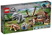 LEGO Jurassic World 75941 Индоминус-рекс против анкилозавра