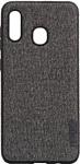 EXPERTS Textile Tpu для Samsung Galaxy A20/A30 (серый)