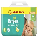 Pampers Active Baby-Dry 5 Junior (110 шт.)