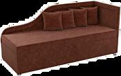 Mebelico Дюна 59407 (вельвет, коричневый)