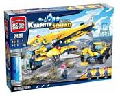Enlighten Brick Kyanite Squad 2408 Воздушный транспорт для экскаватора
