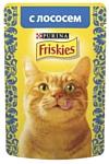Friskies (0.085 кг) 1 шт. Кусочки в подливе с Лососем