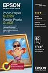 Epson Photo Paper Glossy 10х15 200 г/м2 50 л (C13S042547)