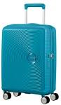 American Tourister Soundbox Summer Blue 55 см