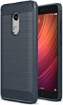 Case Brushed Line для Xiaomi Redmi Note 4/4X (синий)