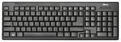Trust Ziva Wireless Keyboard with mouse Black USB