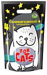 For Cats Силикагелевый Звездная пыль 4л