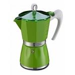 G.A.T. Кофеварка гейзерная BELLA зеленая 9 чашек 103509VER