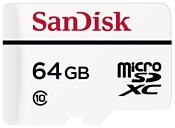 Sandisk High Endurance microSDXC Class 10 64GB + SD adapter