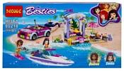 Jisi bricks (Decool) Besties 80218 Летний пляж