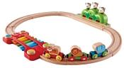 Hape Игровой набор ''Музыкальная железная дорога'' E3825