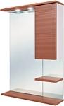 Onika Шкаф с зеркалом Элита 60.02 правый (коричневый) (206024)
