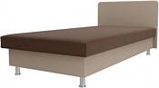 Лига диванов Мальта 200x80 101749 (коричневый/бежевый)