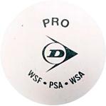 Dunlop White Pro (1 желтая точка, 12 шт)