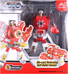 Darvish Робот-бластер с мягкими пулями DV-T-2006 (красный)