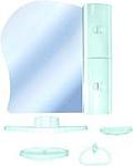Белпласт Набор пластиковой мебели бирюзовый правый (с341-2830)
