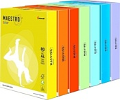 Maestro Color A4 80 г/м.кв 500 л (светло-желтый)