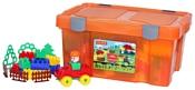 Полесье Строитель 50571 193 элемента (в контейнере)
