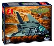 SLUBAN Воздушные войска M38-B0108 Бомбардировщик F-117