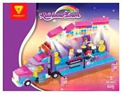 DREAMLOCK Rainbow Town 6801 Грузовик