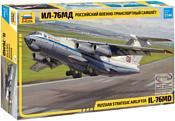 Звезда Военно-транспортный самолет Ил-76МД