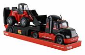 Полесье Трейлер + трактор Mammoet (в лотке) 57129