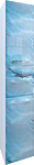 MarkaOne Шкаф-пенал VisBaden 30П У73126 (правый, синий мрамор)
