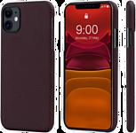 Pitaka MagEZ для iPhone 11 (plain, черный/красный)